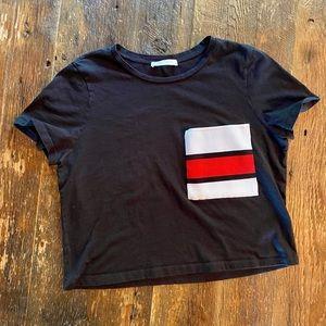Zara Trafaluc Crop Top Women's Shirt